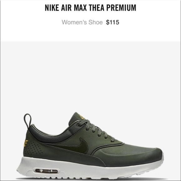 Olive Green Nike Air Max Thea. M 5c74d52161974548c9838c19 51a3bd942
